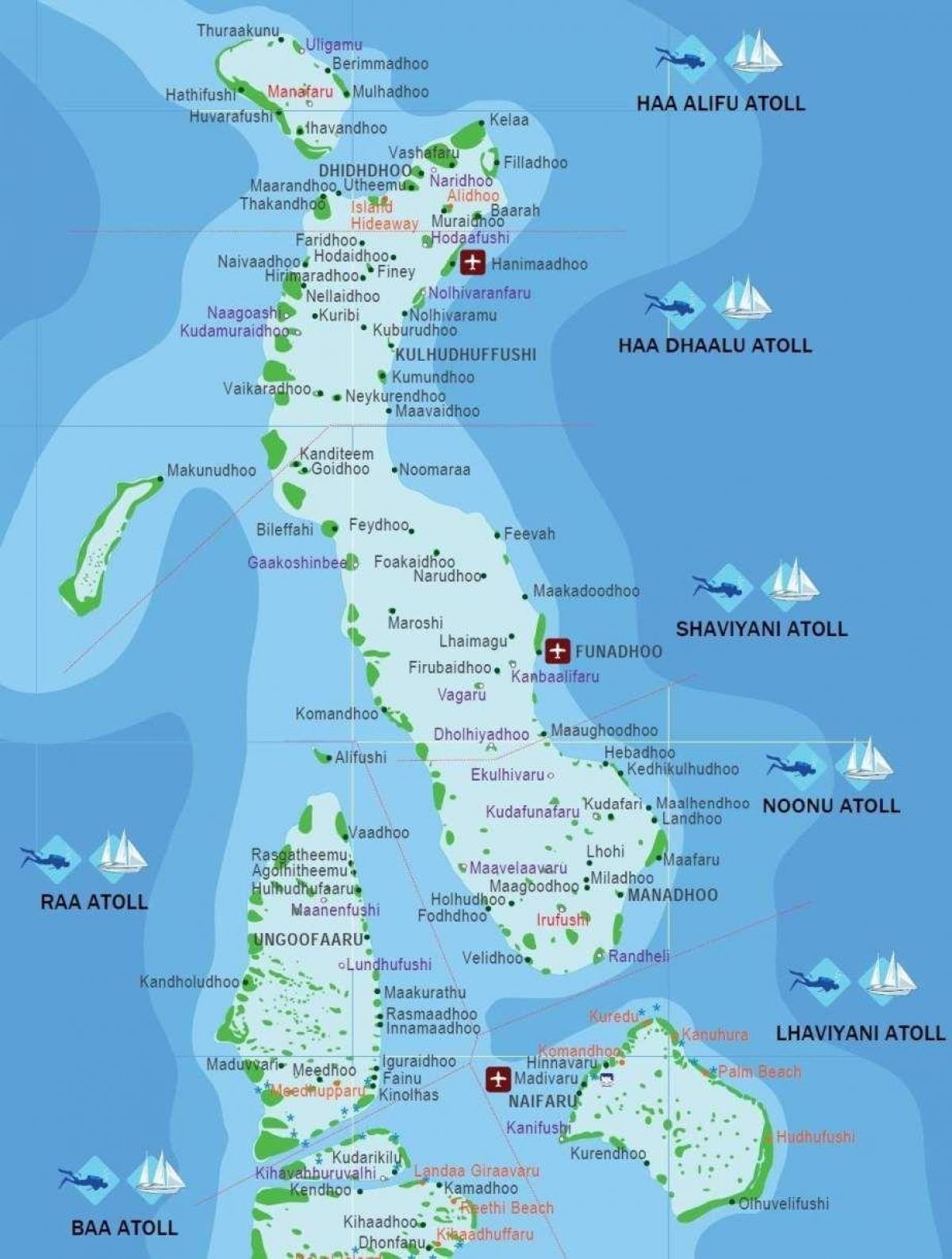 Carte Asie Maldives.Kani Maldives Carte Carte De Kani Maldives Asie Du Sud Asie